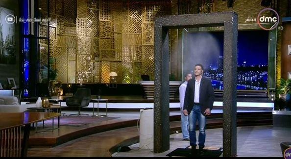 مصري يخترع بوابة تعقيم
